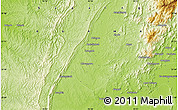 """Physical Map of the area around 23°53'5""""N,95°16'30""""E"""