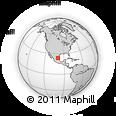 Outline Map of González, rectangular outline