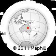 Outline Map of Opalton, rectangular outline