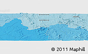 """Political Panoramic Map of the area around 23°3'19""""S,149°40'30""""E"""