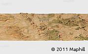 "Satellite Panoramic Map of the area around 23°3'19""S,149°40'30""E"