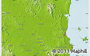 Physical Map of Parkhurst