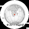 Outline Map of Ga-Tshabalala, rectangular outline