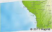 Physical 3D Map of Tsinjoriaka