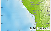 Physical Map of Tsinjoriaka