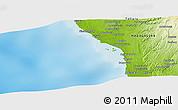 Physical Panoramic Map of Tsinjoriaka