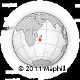Outline Map of Marovotry, rectangular outline