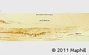 Physical Panoramic Map of Alice Springs