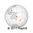 Outline Map of Rangal, rectangular outline