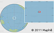"Savanna Style Location Map of the area around 23°33'11""S,149°31'30""W"