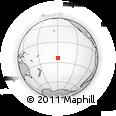 Outline Map of Anua, rectangular outline