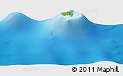 Physical Panoramic Map of Anua