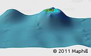 "Satellite Panoramic Map of the area around 23°33'11""S,149°31'30""W"