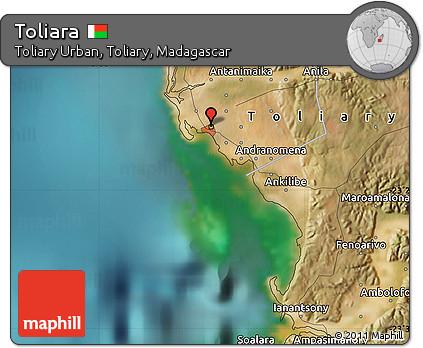 Free Satellite Map of Toliara
