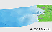 Political Panoramic Map of Toliara