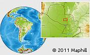 Physical Location Map of Concepción