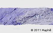 Political Panoramic Map of Miyang