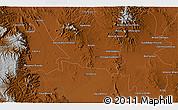 Physical 3D Map of Juan Aldama