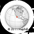 Outline Map of Lavandería Armida, rectangular outline