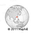 """Outline Map of the Area around 24° 22' 49"""" N, 115° 40' 30"""" E, rectangular outline"""