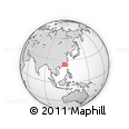"""Outline Map of the Area around 24° 22' 49"""" N, 116° 31' 30"""" E, rectangular outline"""