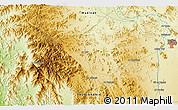 Physical 3D Map of Medina
