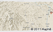 Shaded Relief 3D Map of Medina