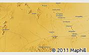 Physical 3D Map of Aḑ Ḑādīyah