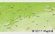 Physical 3D Map of Bārāchati