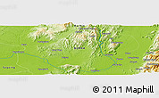 Physical Panoramic Map of Hko-nwe