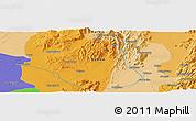 Political Panoramic Map of Hko-nwe