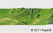 Satellite Panoramic Map of Hko-nwe