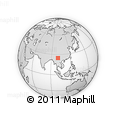 """Outline Map of the Area around 24° 52' 30"""" N, 100° 22' 30"""" E, rectangular outline"""