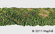 Satellite Panoramic Map of Dongguazhen