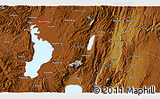 """Physical 3D Map of the area around 24°52'30""""N,102°55'30""""E"""