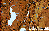 """Physical Map of the area around 24°52'30""""N,102°55'30""""E"""
