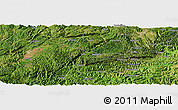 Satellite Panoramic Map of Xingyi