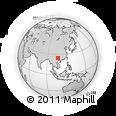 Outline Map of Dukou, rectangular outline