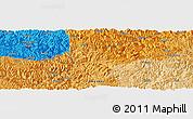 Political Panoramic Map of Longlin