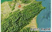 Satellite Map of Taipei