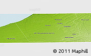 "Physical Panoramic Map of the area around 24° 52' 30"" N, 55° 19' 30"" E"