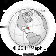 Outline Map of Eleuthera, rectangular outline