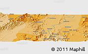 Political Panoramic Map of Haili