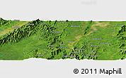 Satellite Panoramic Map of Haili