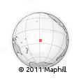 Outline Map of Anatonu, rectangular outline