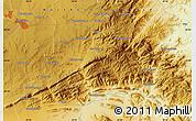 Physical Map of Lebowakgomo