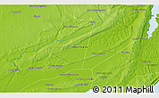 Physical 3D Map of The Ravene Estates