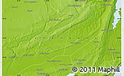 Physical Map of The Ravene Estates
