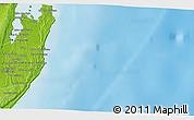 Physical 3D Map of Talofo