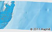 Political 3D Map of Cabo Guinjata
